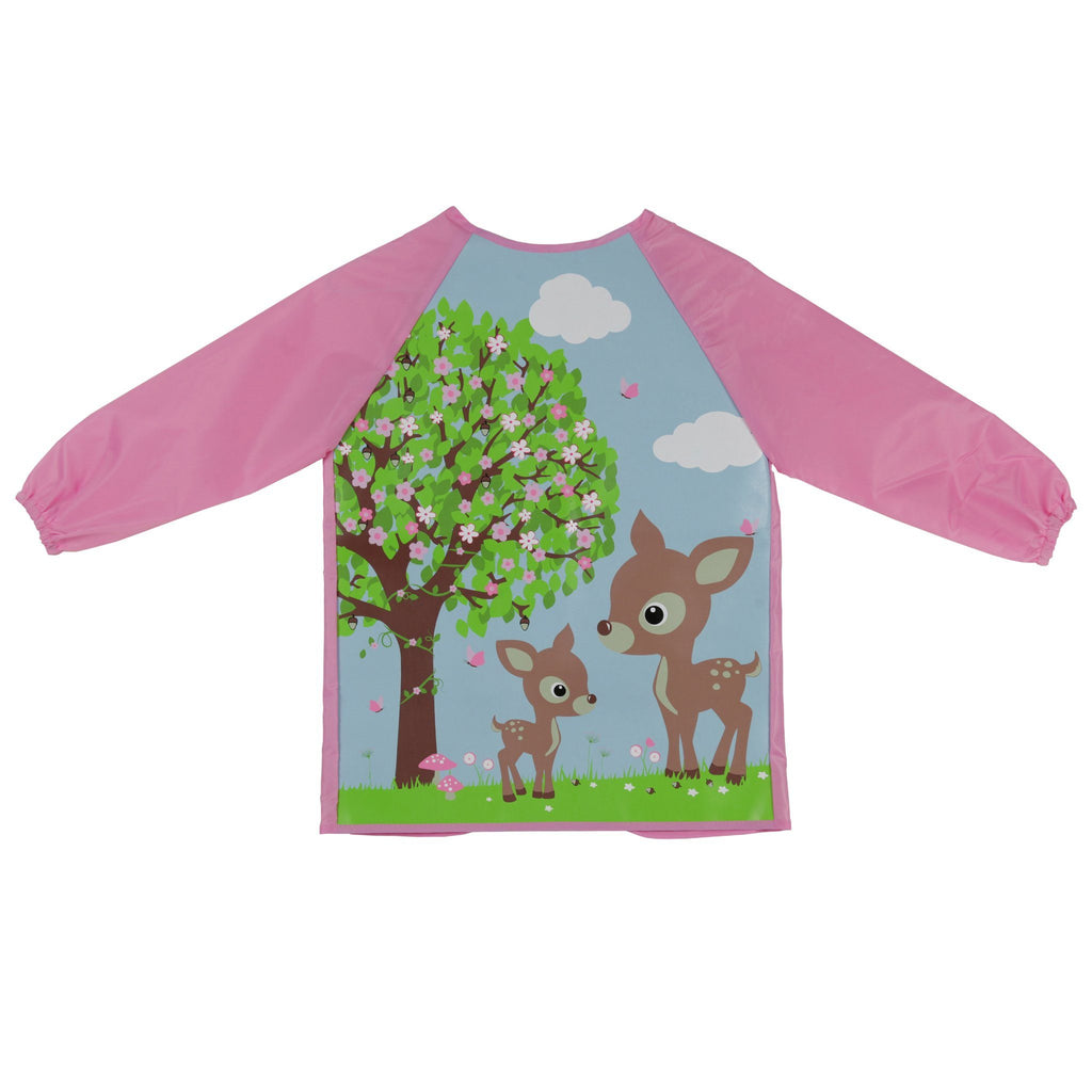 Kids & Children Art Smock Woodland Animals - Bobble Art