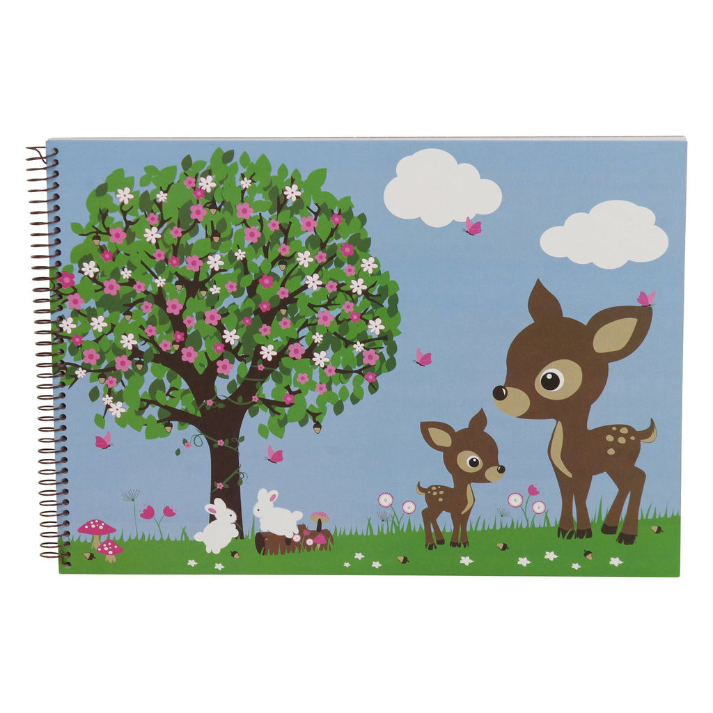 sketch book woodland sample
