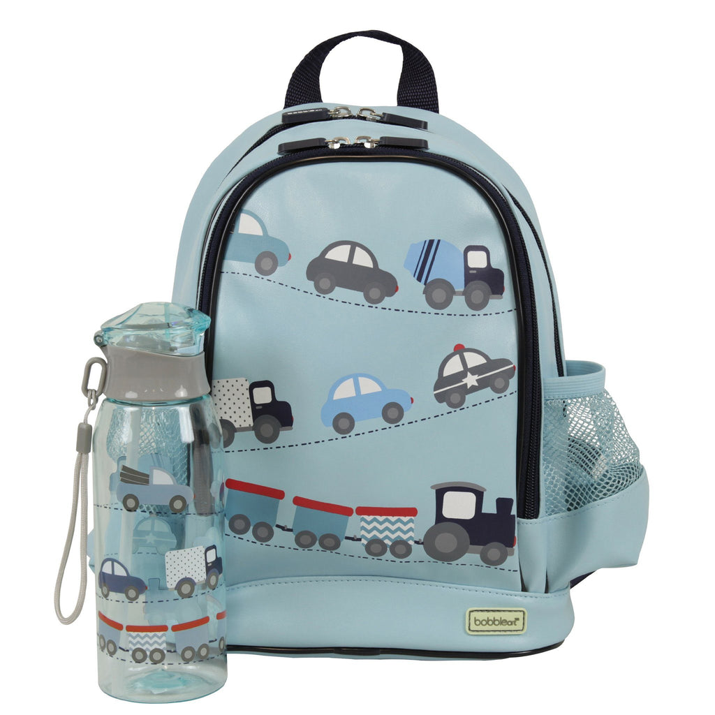 Kids & Children Small Backpack/Drink Bottle Pack Cars - Bobble Art