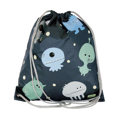 drawstring bag monster sample