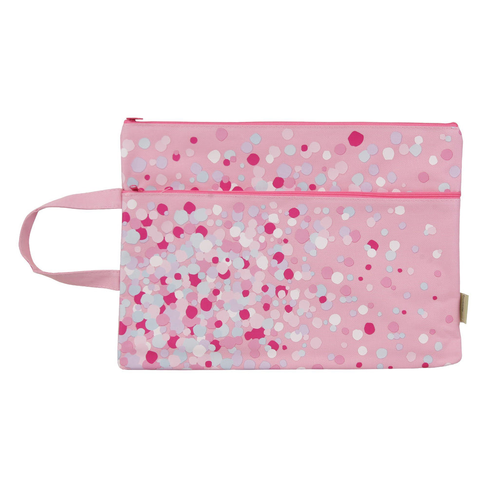 Kids & Children A4 Pencil Case Confetti - Bobble Art