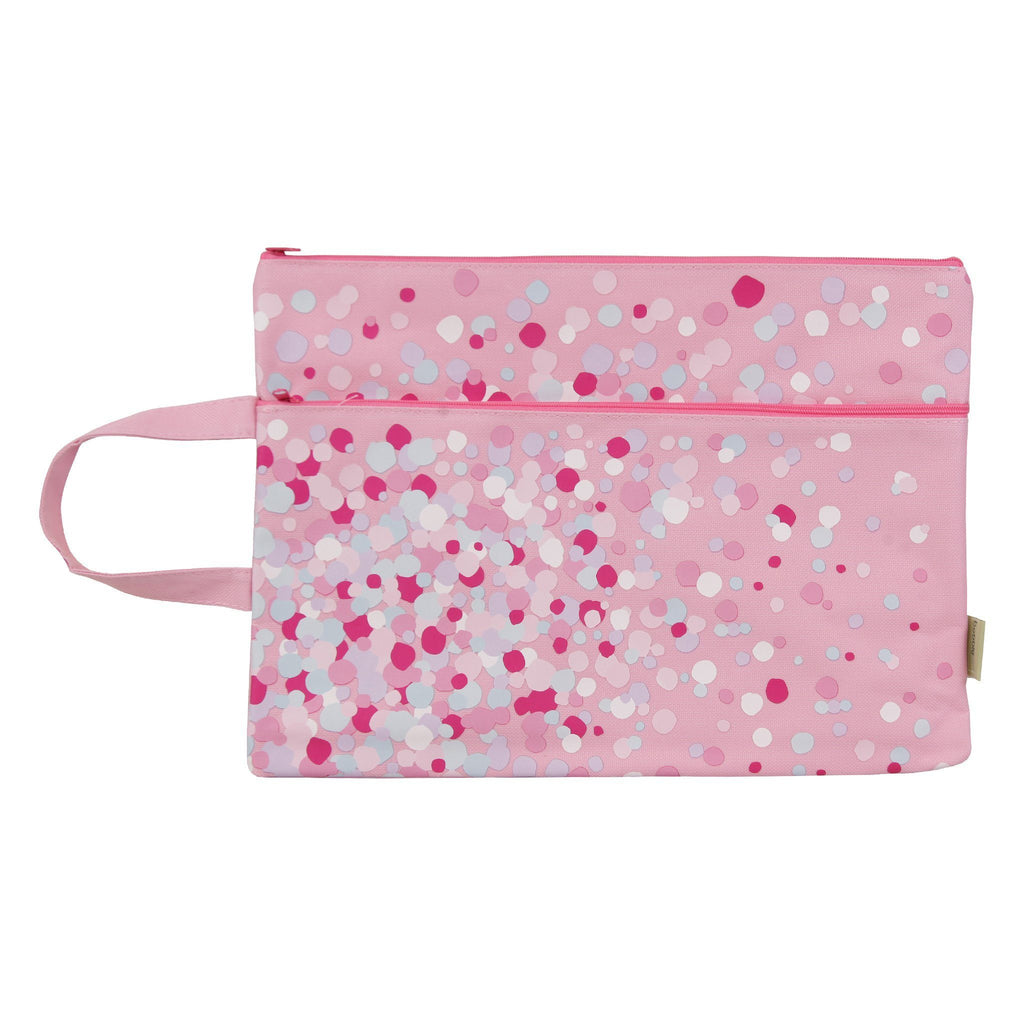 A4 pencil case confetti sample