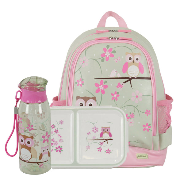 Kids & Children Small Backpack Snack Pack Owl - Bobble Art