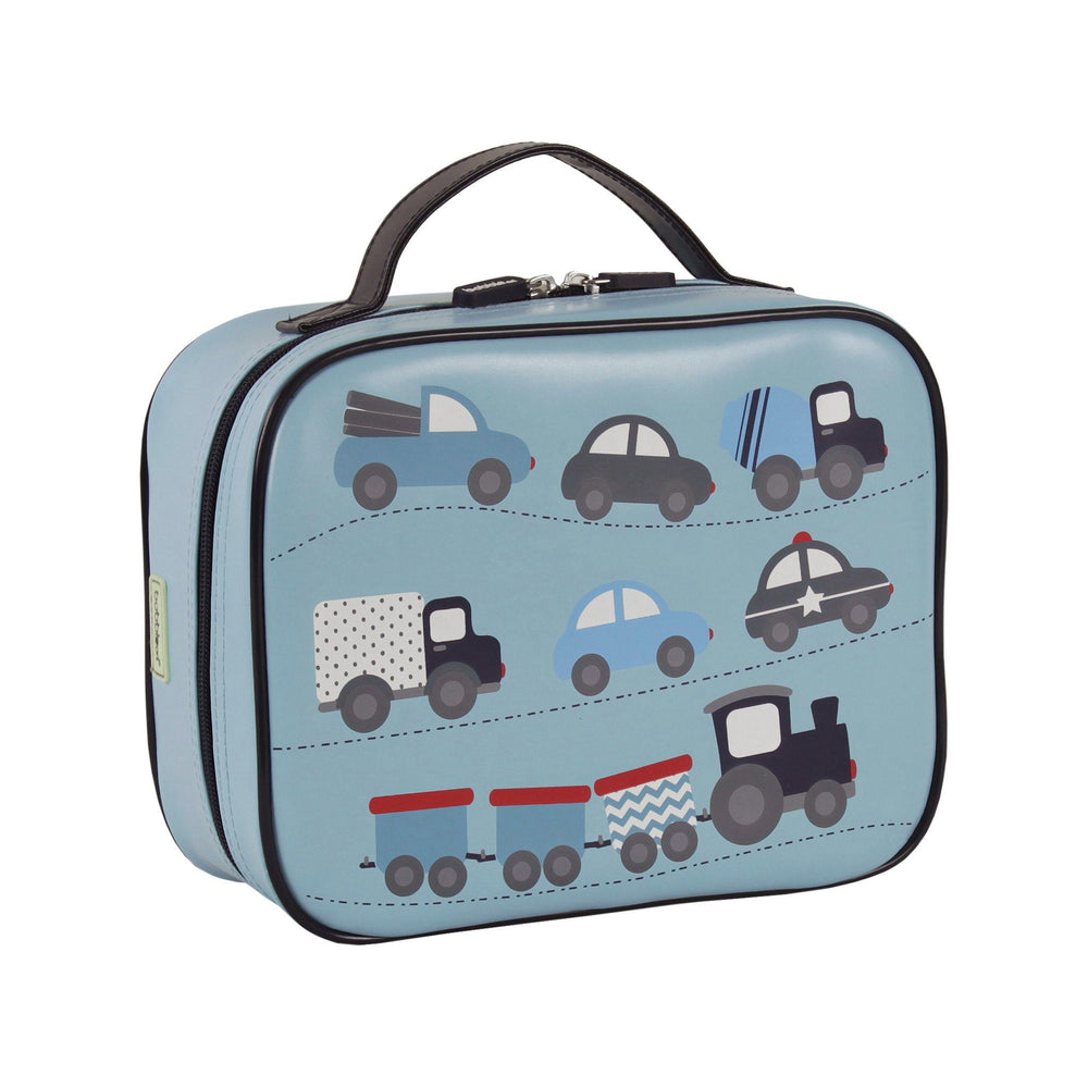 Kids & Children Large Lunch Bag Cars - Bobble Art