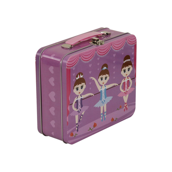 Tin Suitcase Ballerina