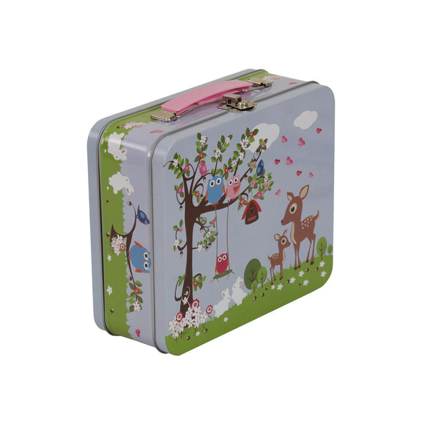 Tin Suitcase Woodland