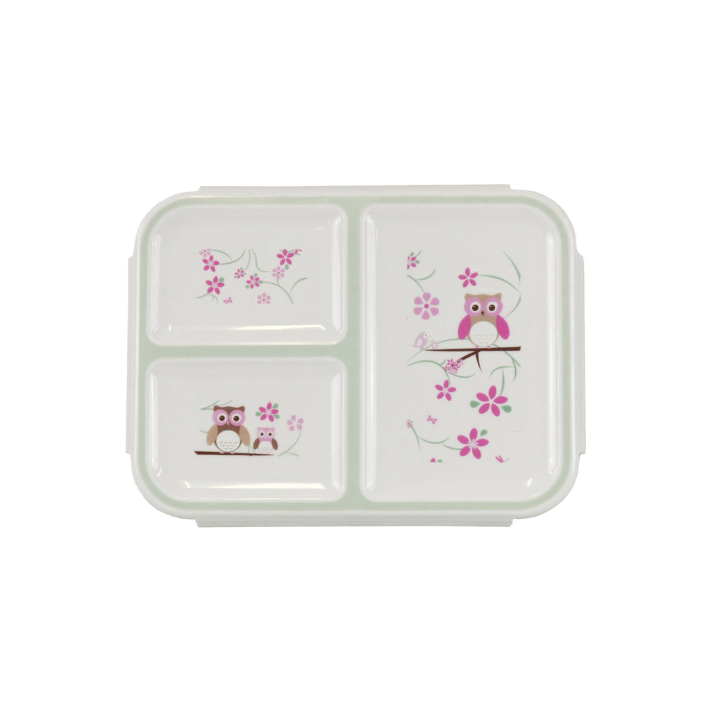 Kids & Children Bento Box Pack Owl - Bobble Art