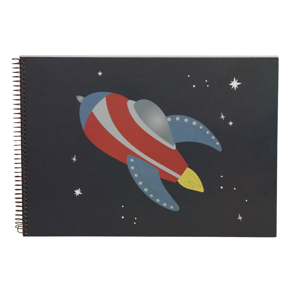 Kids & Children A3 Sketch Book Rocket - Bobble Art
