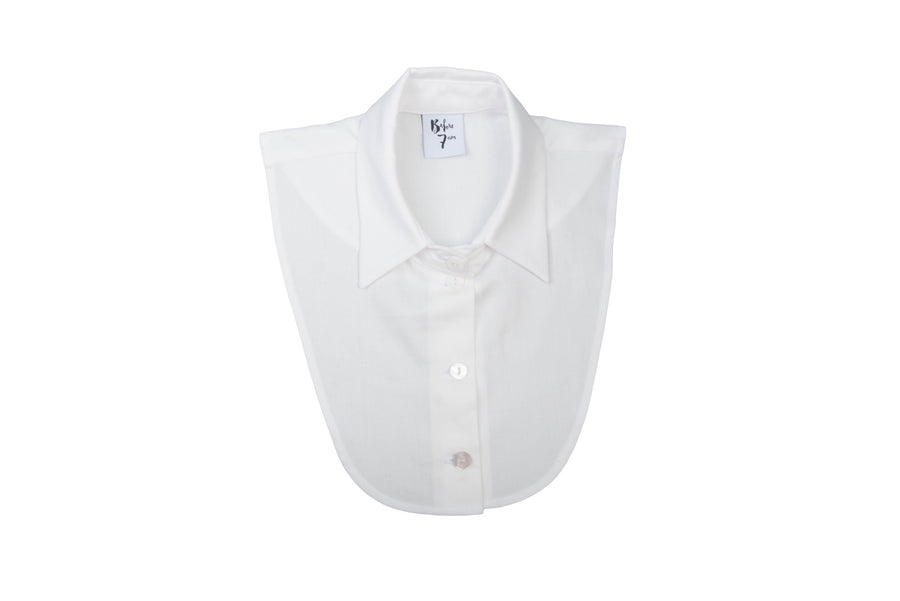 Caleesi Detachable Collar in White