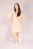 PIN UP SKATE/ Dress sweatshirt Beige