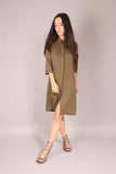 PIN UP SKATE/ Dress tunic Khaki