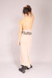 PIN UP/ Dress long Beige