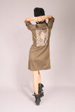 PIN UP/ Dress tunic Khaki