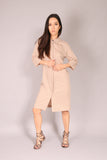 PIN UP/ Dress tunic Beige