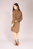 PIN UP SKATE/ Dress sweatshirt Khaki