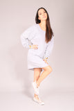 PIN UP SKATE/ Dress sweatshirt Gray
