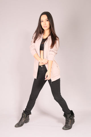 PIN UP SKATE/ Jacket Bomber Beige