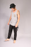 PIN UP SKATE/ Tank top Gray