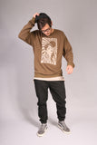 PIN UP/ Sweatshirt Khaki
