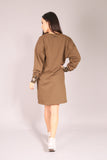 SURFER/ Dress sweatshirt Khaki