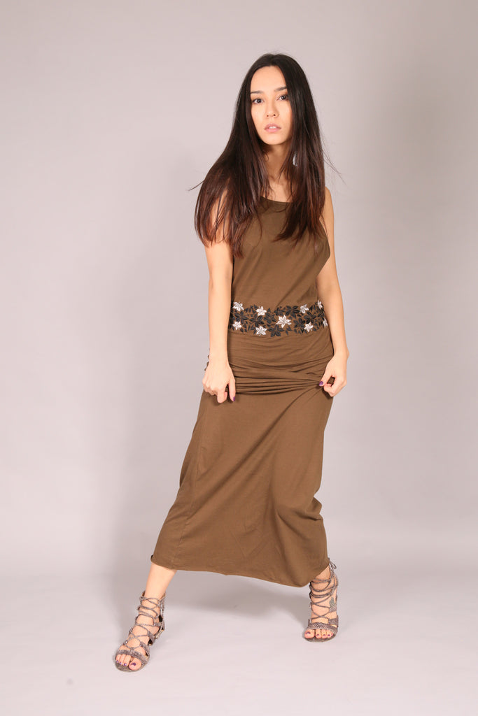 SURFER/ Dress long Khaki