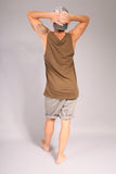 SURFER/ Tank top Khaki