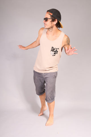 SURFER/ Tank top Beige