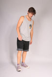 SURFER/ Tank top Gray