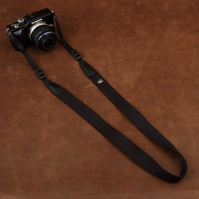 Cam-in Cotton Camera Neck Strap (25mm Width, 15 Colors)