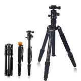 Benro A1692TB0 Travel Angel Aluminum Tripod Monopod Kit (8kg Max. Load, 5 Leg Sections)
