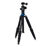 Benro A0292TB00 Travel Angel Aluminum Mini Tripod Monopod Kit (6kg Max. Load, 5 Leg Sections)