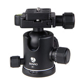 Benro B1 Dual Action Ball Head for Camera Tripod (12kg Max. Load, 36mm Ball Diameter)
