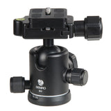 Benro B0 Dual Action Ball Head for Camera Tripod (8kg Max. Load, 30mm Ball Diameter)