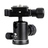Benro B00 Dual Action Ball Head for Camera Tripod (6kg Max. Load, 24mm Ball Diameter)
