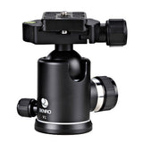 Benro V1 Dual Action Ball Head for Camera Tripod (25kg Max. Load, 36mm Ball Diameter)