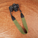 Cam-in Cotton Camera Neck Strap (55mm Width, 10 Colors)