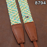 Cam-in Cotton Camera Neck Strap (34mm Width, 10 Patterns)