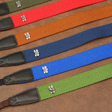 Cam-in Anti-Slip Camera Neck Strap (38mm Width, 13 Colors)