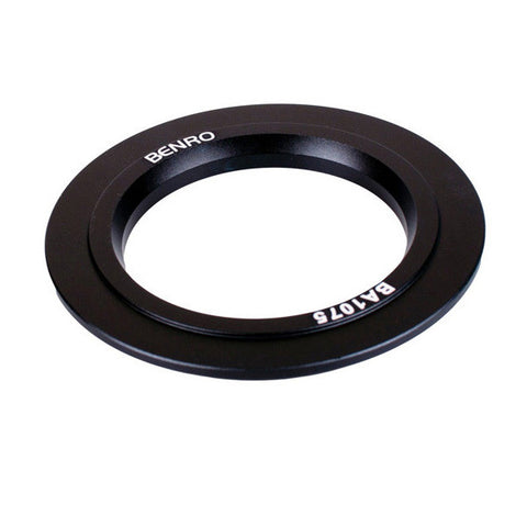Benro BA1075N Bowl Adapter Ring (from 100mm / 85mm to 75mm)