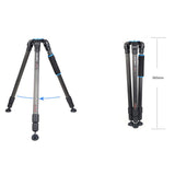 Benro A3770TN Aluminum Heavy Duty Tripod (18kg Max. Load, 3 Leg Sections)