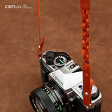 Cam-in Leather Camera Neck Strap (25mm Pad Width, 10 Colors)