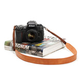 Cam-in Leather Camera Neck Strap (30mm Width, 10 Colors)
