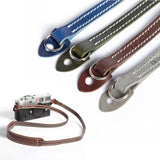 Cam-in Leather Camera Neck Strap (12mm Width, Lug Mount Attach, 4 Colors)