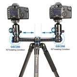 Benro GA268TB2 Go Travel Aluminum Tripod Kit (16kg Max. Load, 4 Leg Sections)