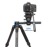 Benro GC168T Go Travel Carbon Fiber Tripod (14kg Max. Load, 4 Leg Sections)