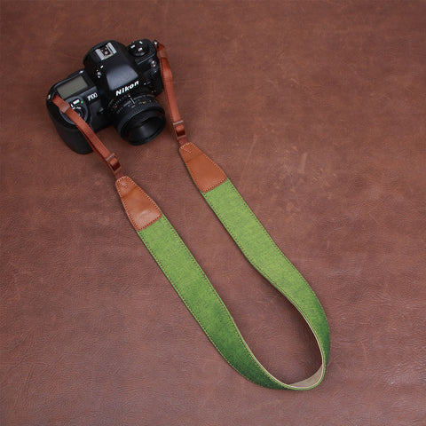 Cam-in Denim Camera Neck Strap Series #2 (39mm Width, 5 Colors)