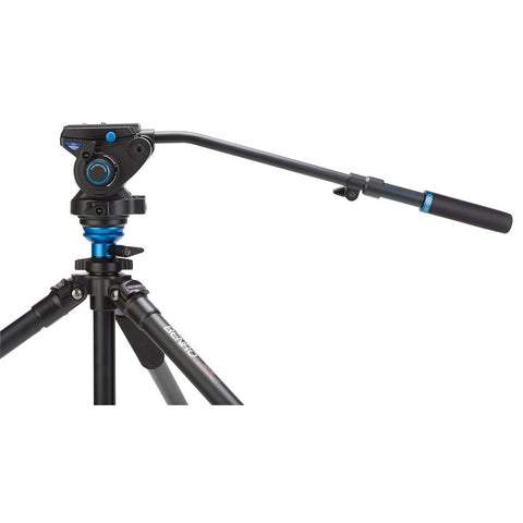 Benro S6 Video Fluid Pan Tilt Head (6kg Max. Load, w/ Damping Adjustment)