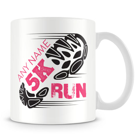 5K Mug - Running Personalised Cup Gift for Runners of 5Km Race