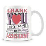 Assistant Thank You Mug