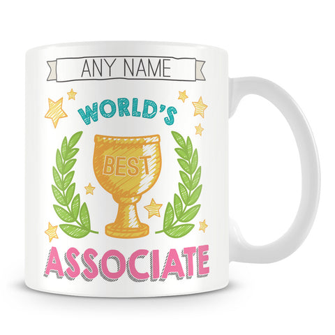 Worlds Best Associate Award Mug